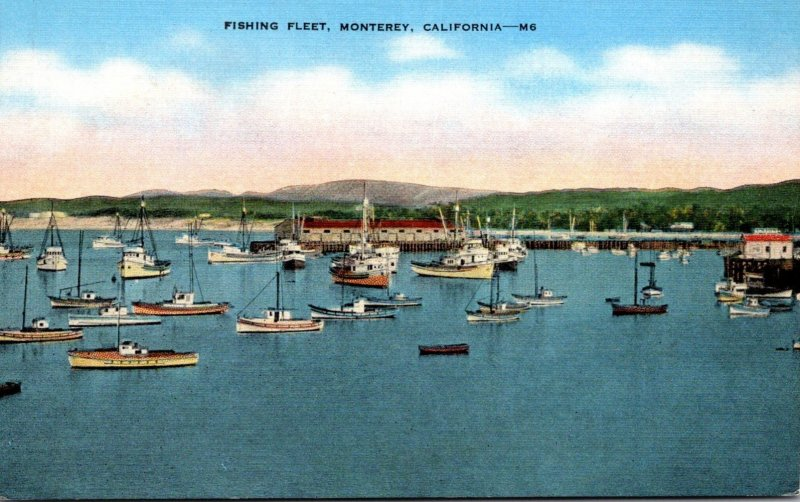 California Monterey Fishing Fleet