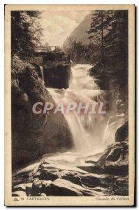 Old Postcard Cauterets Cascade Ce'rizet