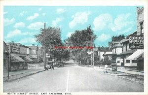 OH, East Palestine, Ohio, North Market Street, Business Section, No 60212