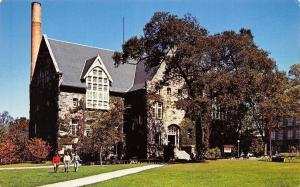 Kingston Rhode Island~University~Lippitt Hall~1960s Postcard