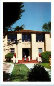 SANTA BARBARA, CA California   EBBETS HALL   S B COLLEGE   c1950s  Postcard