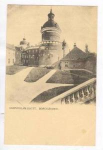 Gripsholms Slott. Borggarden, Sweden, Pre 1905