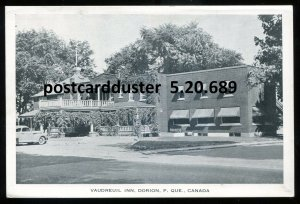 689 - DORION Quebec Postcard 1940s Vaudreuil Inn