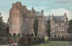 Grandtully Castle, Perthshire, Scotland, Early Postcard, Unused