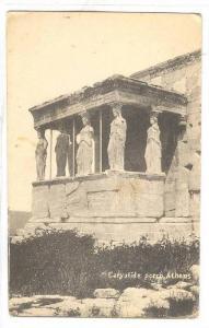 Caryatide Porch Athens, Greece, 1900-1910s