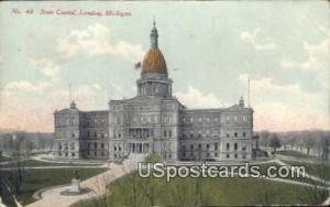 State Capitol Lansing MI 1910