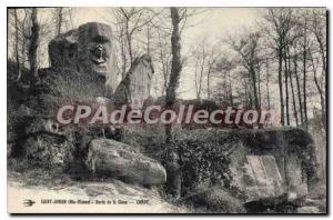 Postcard Old Saint Junien (Haute Vienne) Banks of the Glane
