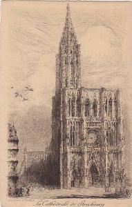 La Cathedrale De Strasbourg (Bas Rhin), France, 1900-1910s