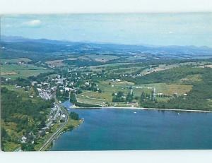 Pre-1980 AERIAL VIEW Barton Vermont VT A5226