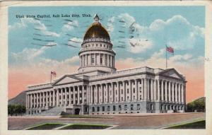 Utah State Capitol, Salt Lake City, Utah, PU-1920