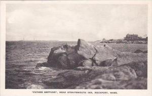 Massachusetts Rockport Father Neptune Albertype
