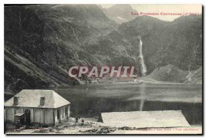 Old Postcard Luchon Lake of Oo General view