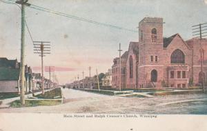 Ralph Connor's Church on Main Street - Winnipeg MB, Manitoba, Canada - DB