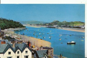 Wales Postcard - The Estuary - Conway - Caernarvonshire - Ref 16302A