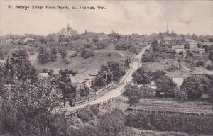St George Street from North , ST THOMAS , Ontario , Canada , PU-1913