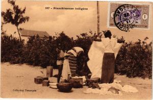 CPA Senegal-Blanchisseuse indigéne (235467)