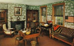 Pennsylvania Lancaster The Study At Wheatland Home Of James Buchanan 15th Pre...