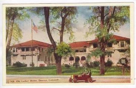 Old Ladies Home, Denver, Colorado, 00-10s