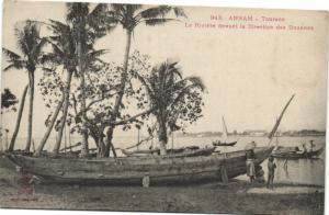 CPA Vietnam Indochine ANNAM Tourane - La Rivière (62138)