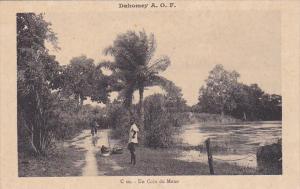DAHOMEY , Africa , 1910s ; Un Coin du Mono