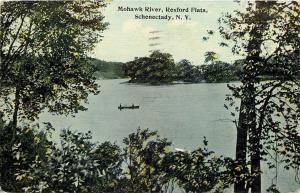 Schenectady New York~Mohawk River~Rexford Flats~1913 Postcard