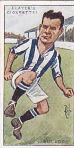 Players Vintage Cigarette Card Footballers Caricatures RIP 1926 No 5 Norman B...