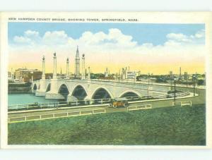 W-Border BRIDGE SCENE Springfield Massachusetts MA HJ1209