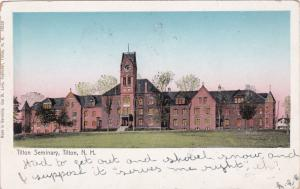 TILTON , New Hampshire , 1906 ; Titon Seminary