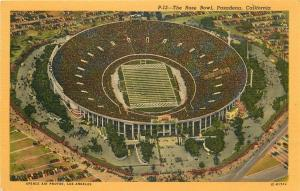 CA, Pasadena, California, Rose Bowl, C.T. Art No. IC-H1744
