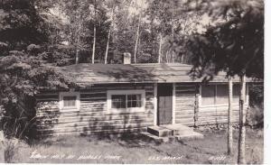 RP; ELY, Minnesota, 20-30s ; Cabin #7 , Burley Park
