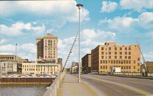 Downtown , SAGINAW , Michigan , 50-60s