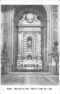 B105471 Italy Bologna Chiesa della SS. Trinita, Altare di S Biagio