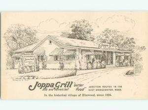 Pre-1980 JOPPA GRILL RESTAURANT IN ELMWOOD East Bridgewater MA W5720-12
