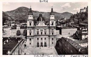 Dom mit Gatsberg Salzburg Austria Writing on back