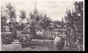 Pennsylvania Mercersburg The Chapel Spire From The Boys Garden The Mercersbur...