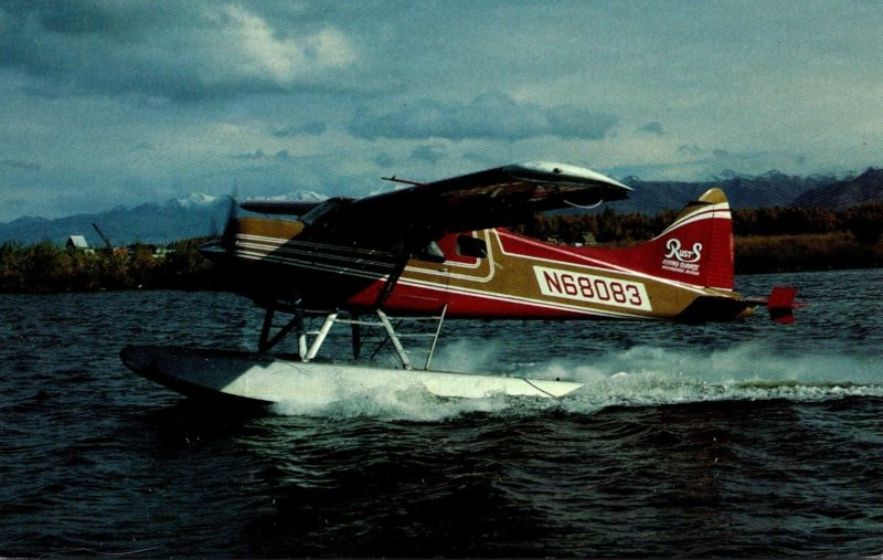 Rusts Flying Service DHC-2 Beaver 1 At Anchorage Alaska