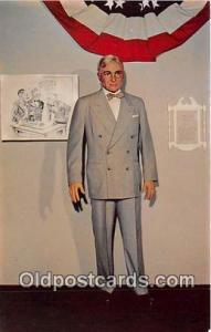 Atom Bomb, WWII Postcard Harry S Truman 1884