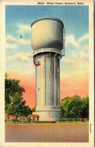Brainerd Minnesota Water Tower MN c1950s Vtg postcard