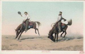 Broncho Busting , 1904