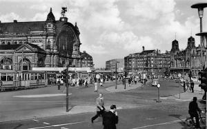 Frankfurt am Main Station Am Hauptbahnhof Auto Vintage Cars Tram