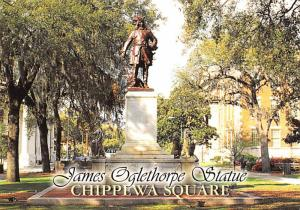 James Oglethorpe Statue - Savannah, Georgia