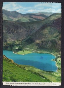 Buttermere Lake From High Crag,The Lake District,England,UK