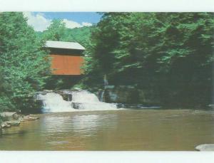 Pre-1980 BRIDGE SCENE Johnburg Pennsylvania PA HJ0592