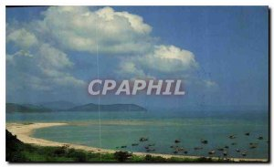 Postcard Modern Song Cau Bay Vietnam Phu Yen