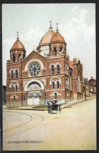 St Nicholas Church Zanesville Ohio Unused c1910s