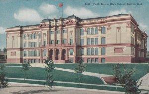 DENVER, Colorado, 1900-10s; North Denver High School