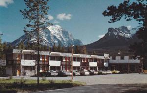 Exterior,  Mountaineer Motel,  Lake Louise,  Alberta,   Canada,  40-60s