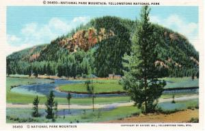 YELLOWSTONE NATIONAL PARK.  Haynes Linen Series. 36450.