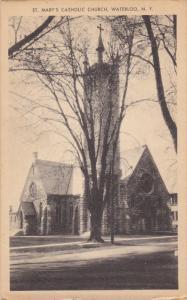WATERLOO, New York, 1900-1910's; St. Marry's Catholic Church