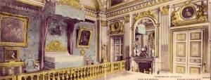 BI-FOLD CHAMBRE DE LOUIS XIV VERSAILLES FRANCE 1919